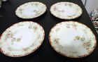 VTG 4 PIECE HAND PAINTED EMPRESS CHINA FLORAL 7 3/4