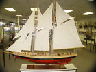 XL Schooner Bluenose II Wooden Sailing Ship Model 100.5