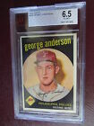 1959 Topps Sparky Anderson (RC) BVG 6.5