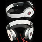 New White 3.5mm Earphone Headphone Earbuds Stere For iPod Phone PC MP3 MP4 MP5