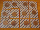 SET / LOT 12 ESSO WORLD CUP FOOTBALL COINS Sealed New & Mint ITALY 1990 * RARE *