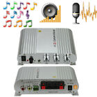 200W 12V Mini Hi-Fi Amplifier Booster Radio MP3 Stereo for Car Motorcycle Home