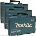 3pc Makita LXT239 XT248 Hard Plastic Tool Case Box Storage Drill Impact Battery