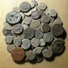 Lot of 100 uncleaned Roman Bronze Coins #03