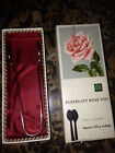 Vintage German Silver Double Sugar/Serving Spoon, Kleeblatt Rose 1959/834 In Box