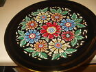 Vtg HAND MADE MANOUSAKIS KERAMIK RODOS GREECE DECORATION PLATE