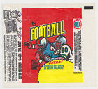 1975 TOPPS NFL NATIONAL FOOTBALL LEAGUE CARD WRAPPER SPORTS CLUB SIDE AD PANEL