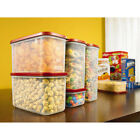 Rubbermaid 8pc Modular Canister Set Food Pasta Storage Containers