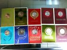 Franklin Mint Coins Medals Christmas 1967-1971 Lot 10 Cards UNC Coin