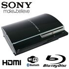 Sony PlayStation 3 80 GB Piano Black Console (NTSC -CECH-L01) With 12 Games