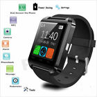 U8 Bluetooth Smart Watch Phone Mate For IOS Android Samsung iPhone HTC Black New