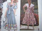 New Misses Daisy Kingdom Dress Sewing Pattern 9453 Full Skirt Big Sailor Collar