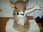FITZ&FLOYD CHARMING TALES 3 FT.MACKENZIE STATUE RARE TO FIND VERY NICE ADVERTISE