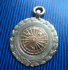 Vintage Silver & Gold Darts Medal / Watch Fob 1938 Chester - Robert Pringle