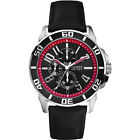 Mens Guess Racer black and red watch W10602G1