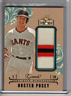 2014 Triple Threads BUSTER POSEY 3 COLOR JUMBO PATCH SP #3 3 SAN FRANCISCO!!!!