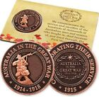 WW1 The Great War DIGGER Penny - Remembrance Day * ANZAC Day