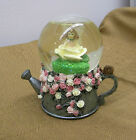 Dezine #5785 Hand Painted Fairy Water Globe 2001 Water Sprinkling Can
