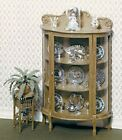 CHRYSNBON KIT - CHINA CABINET & Plant Stand Dollhouse Miniature 1:12