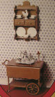 CHRYSNBON Model - TEA CART & Shelf - KIT - Dollhouse 1:12 Heritage Miniatures