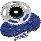 Blue O-Ring Drive Chain & Sprockets Kit Fits SUZUKI GSX-R750 GSXR750 2000-2005