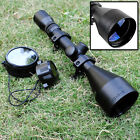 3 9x56 Optics R4 Reticle Air Sniper Hunting Rifle Gun Optical Scope With Mounts