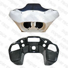 Injection Unpainted Matte Black ABS Fairing Inner & Outer For Harley Road Glide