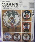 RETRO MCCALL'S HOLIDAY & SEASONAL WREATH PATTERN 5847