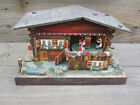 vintage REUGE Swiss Chalet Music Box + dancing couples + hinged lid for jewellry