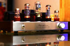Luxury AIQIN HIFI EL34  Single-ended Class A tube amplifier amp 6N9P*2 10w+10w