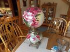 Antique Victorian Gone with the Wind Lamp