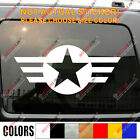 Army Star Decal Sticker USAF Vet Veteran Military Car Vinyl Fit for Jeep etc