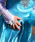 NEW Frozen Elsa dress with sparkle and extra long cape