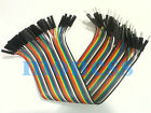 40pcs Dupont jumper cable 20cm 2.54MM male to female 1P For Arduino Raspberry Pi