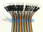 40pcs Dupont wire jumper cable 20cm 2.54MM male to male 1P to 1P For Arduino