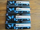 HP 970 & 971 Four Pack Genuine Ink Cartridges, Black Cyan Magenta Yellow