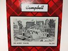 CAMPBELL SCALE MODELS Ayer's Chair Factory Craftsman Kit 1/87 HO Scale NEW #391