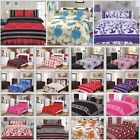 Luxury 4 Pcs Complete Bedding Set Duvet Cover With Valance Sheet