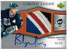 05-06 The Cup LIMITED LOGOS xx 50 Made! Brendan MORRISON - Canucks