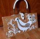 Vintage Enid Collins Box Bag 1963 Love Bird DRASTICALLY REDUCED FOR SALE