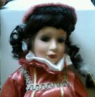 Crowne Fine porcelain Doll Estella, 18