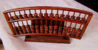 Thai Rosewood payung mini miniature Abacus 15 Column 105 Count beads 紅酸枝木#742