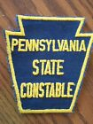 PENNSYLVANIA STATE CONSTABLE POLICE DEPT OFFICE INSIGNIA IRON ON PATCH -NEW