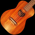 imua iTS c 0591 Hawaiian Hand Made Tenor Solid Curly Koa Satin Ukulele