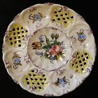 Vintage Serving Platter Made in Italy Hand Painted