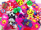 HOT Mix 50PCS Rubber Charms For Rainbow Loom Bands for bracelet/Randomly to send