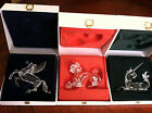SWAROVSKI SCS PEGASUS UNICORN DRAGON FABULOUS CREATURES SET & PLAQUE BNIB w/ CoA