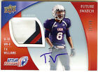 2013 Upper Deck USA 25 49 T.V. Williams Future Swatch Game Worn Patch Kentucky