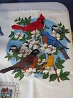 Cranston fabric panel Olde Father Christmas Appliques Vtg Quilting pillows