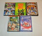 5 DVD Lot TMNT, Jetsons, Power Rangers, Pok'emon, Jimmy Neutron